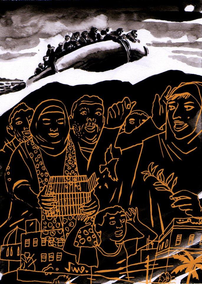 Marco Paci - Menzione speciale Itaca_Contest 2011- Sezione illustrazione