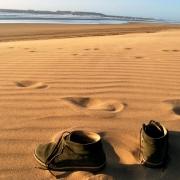 Essaouria, sabbia rossa sulla spiaggia- LA