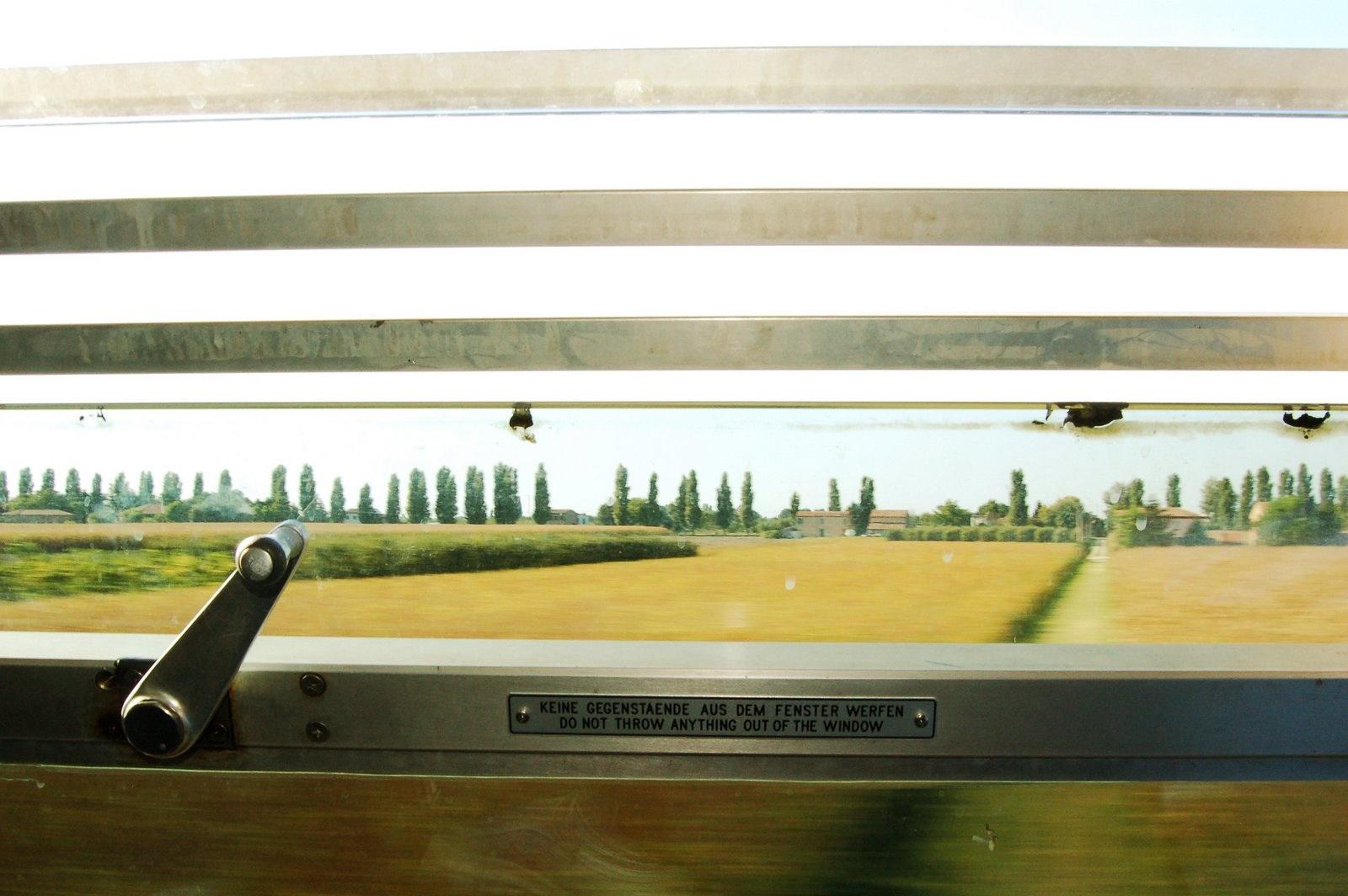 la cornice del treno