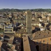 Veduta di Bologna di mattina da Torre Prendiparte _MG_7737