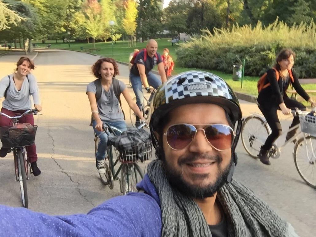 Migrantour Itaca con Ospiti di VIlla Aldini