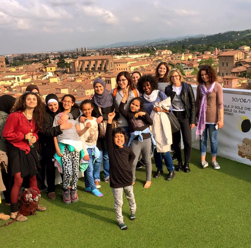 Migrantour con donne del Pilastro per lo Human RIghts Nights