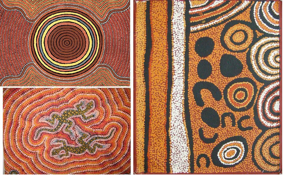 Suonando la terra dei canguri itaca for Arte aborigena