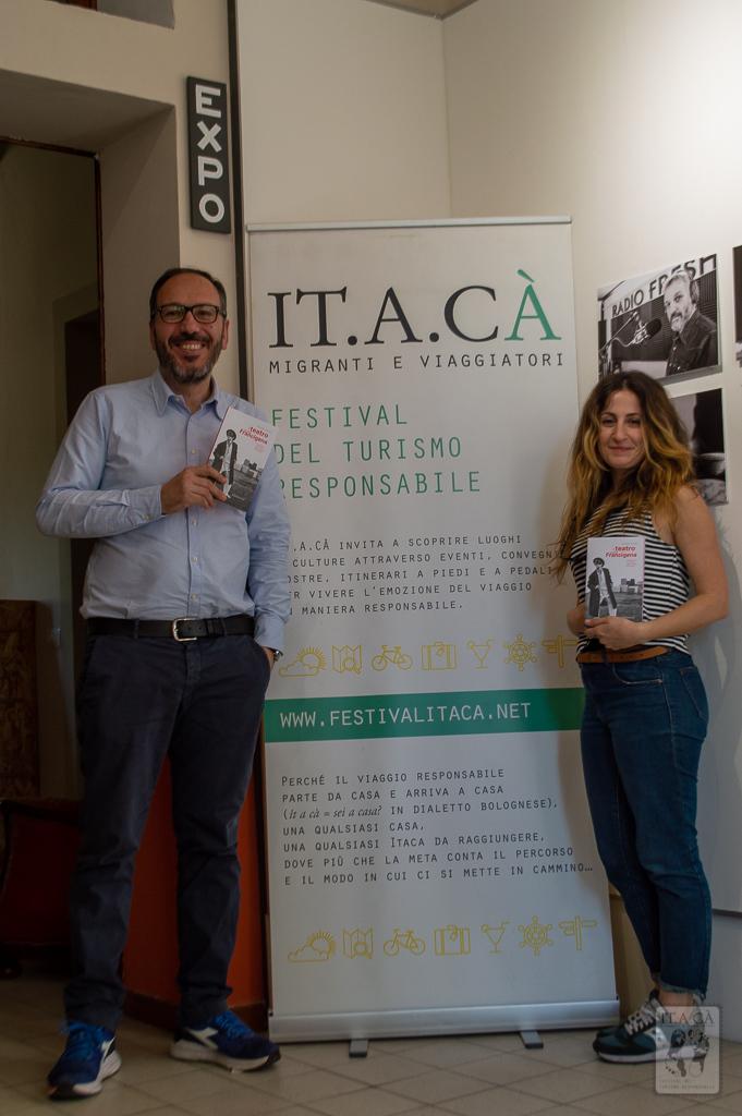 Itaca | Il teatro a piedi sulla via francigena | Intervista a Simone Pacini | Foto corpo testo
